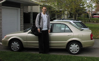 Mazda Protege no good for Tall People