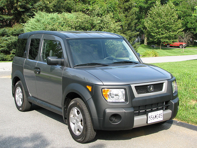 Best Cars for Tall People Honda Element