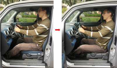 Lowevering a Car Seat for Tall People