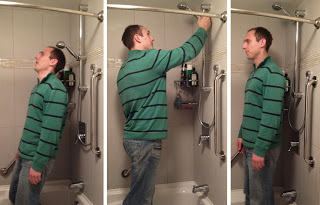 Raised Shower Heads for Tall People