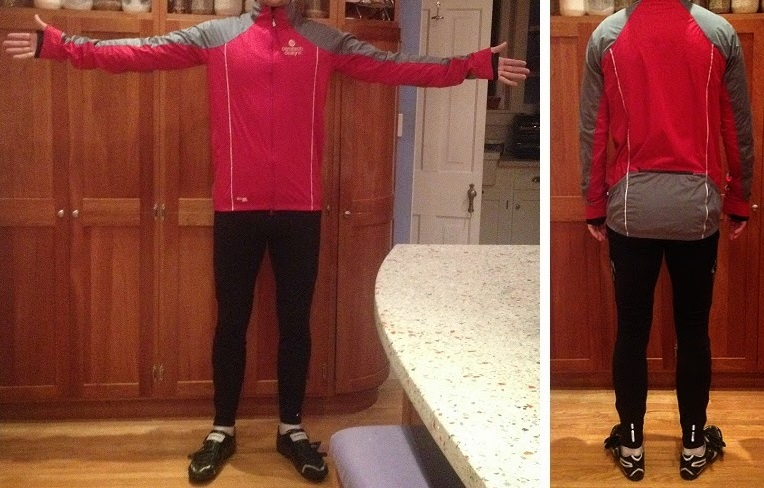 Cycling Jacket for Tall Guy