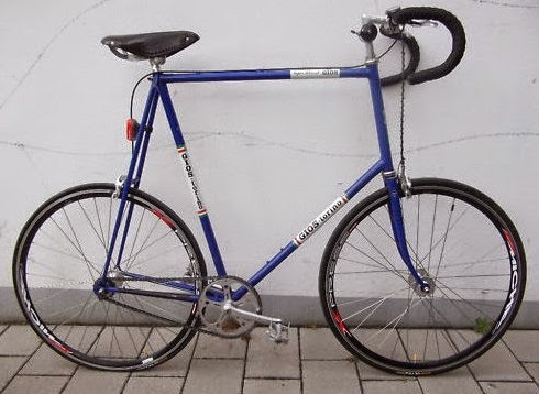 A bike for tall people, but not proportionaly scaled: Gios Torino