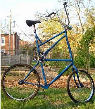 Tall Bike, not to be confused with a bike for tall people