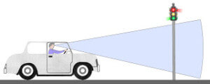 Traffic Lights Blocked by Car Roof? Fresnel Lens for Tall People