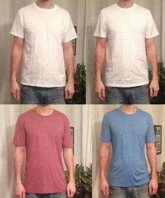 T-Shirts for tall skinny men