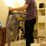 Tall Solutions: Raised Ironing Board