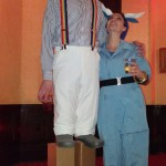 Tall Halloween Costume: Fake Stilts