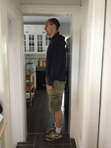 Some Older Homes do Have Doorways Tall People can Fit in.