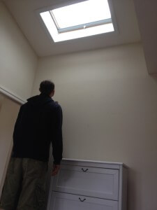 Skylight is Helpful for Tall People