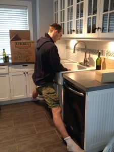 Tall People Doing the Kitchen Sink Splits