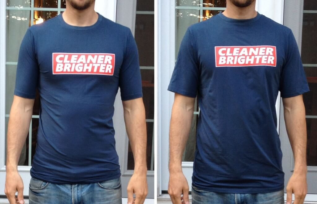 Shirts for Tall Slim Men Large VS Extra Large