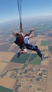 Skydiving While Tall