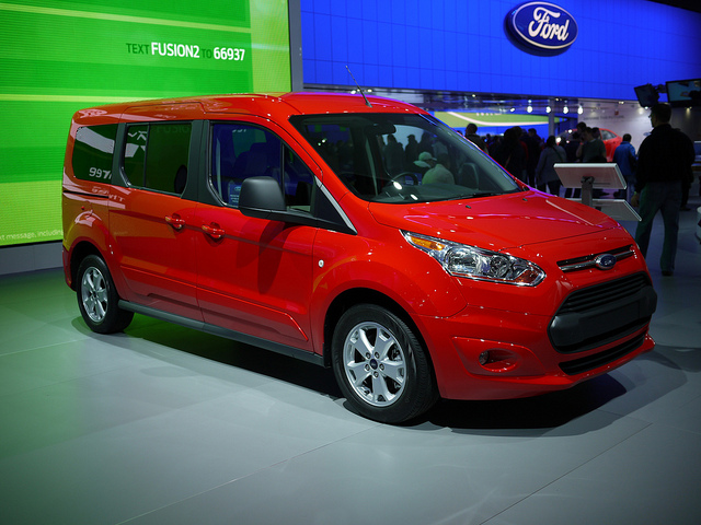 Ford Transit Connect Best Car for Tall People