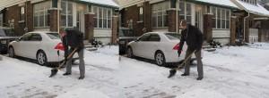 Snow Shovel Handle Extension