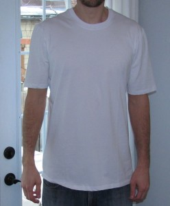 White undershirts for tall people