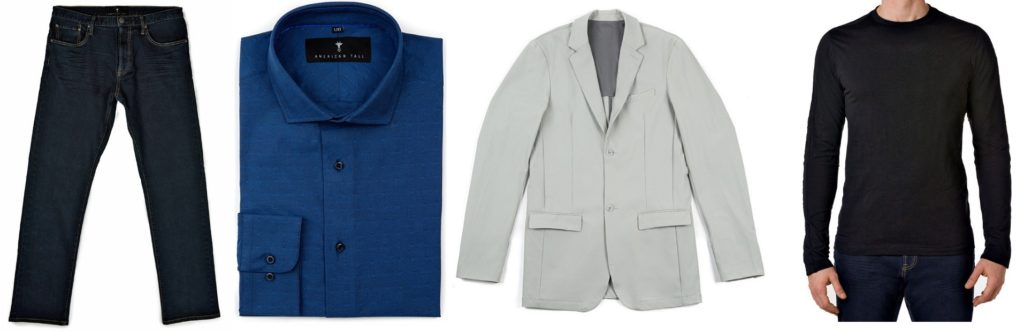 Clothes for Tall Slim Men by American Tall