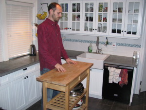raised kitchen island height for tall people tall life