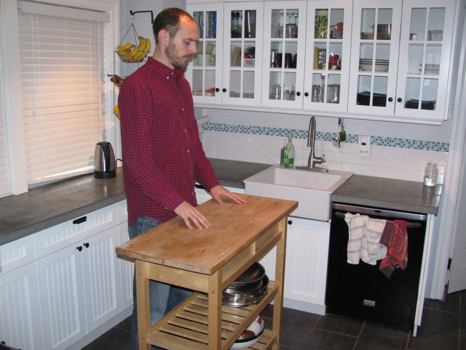 Kitchen Island Heights | Raised Kitchen Island Height For Tall People Tall Life