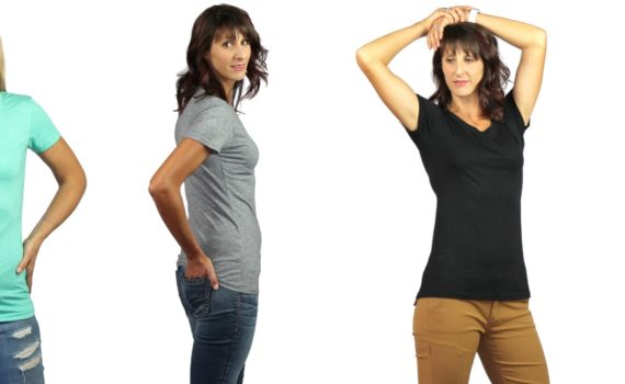 T-shirts for tall slim women by tall slim tees