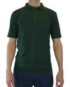 Green Tall Mens Polo by Cleaner Brighter