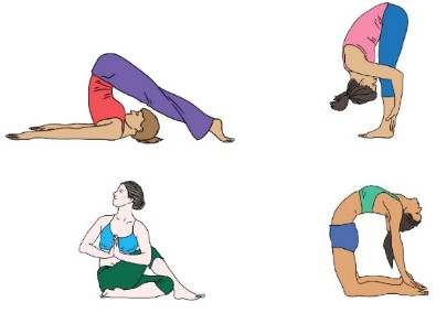 Risky Yoga for tall people poses