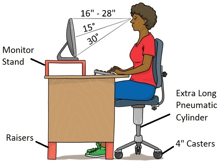 Admirable Tall Office Chairs For Tall People Tall Life Evergreenethics Interior Chair Design Evergreenethicsorg