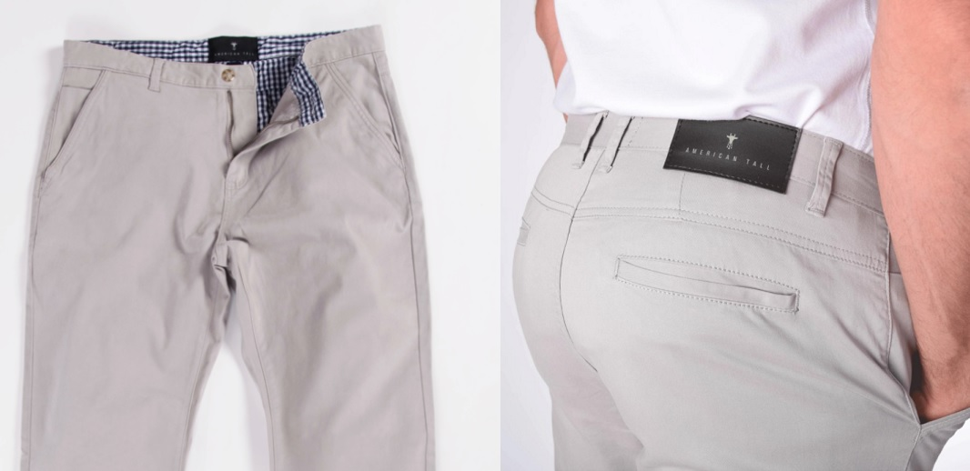 Chinos for Tall Skinny Guys Details
