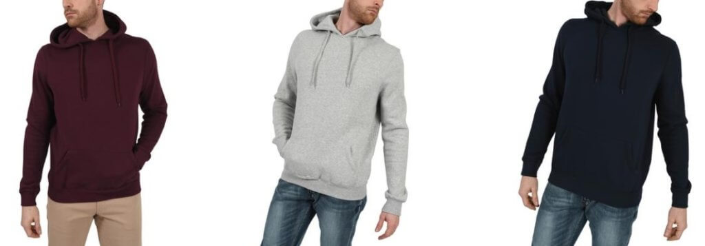 American Tall Pull-Over Hoodies for Tall Men