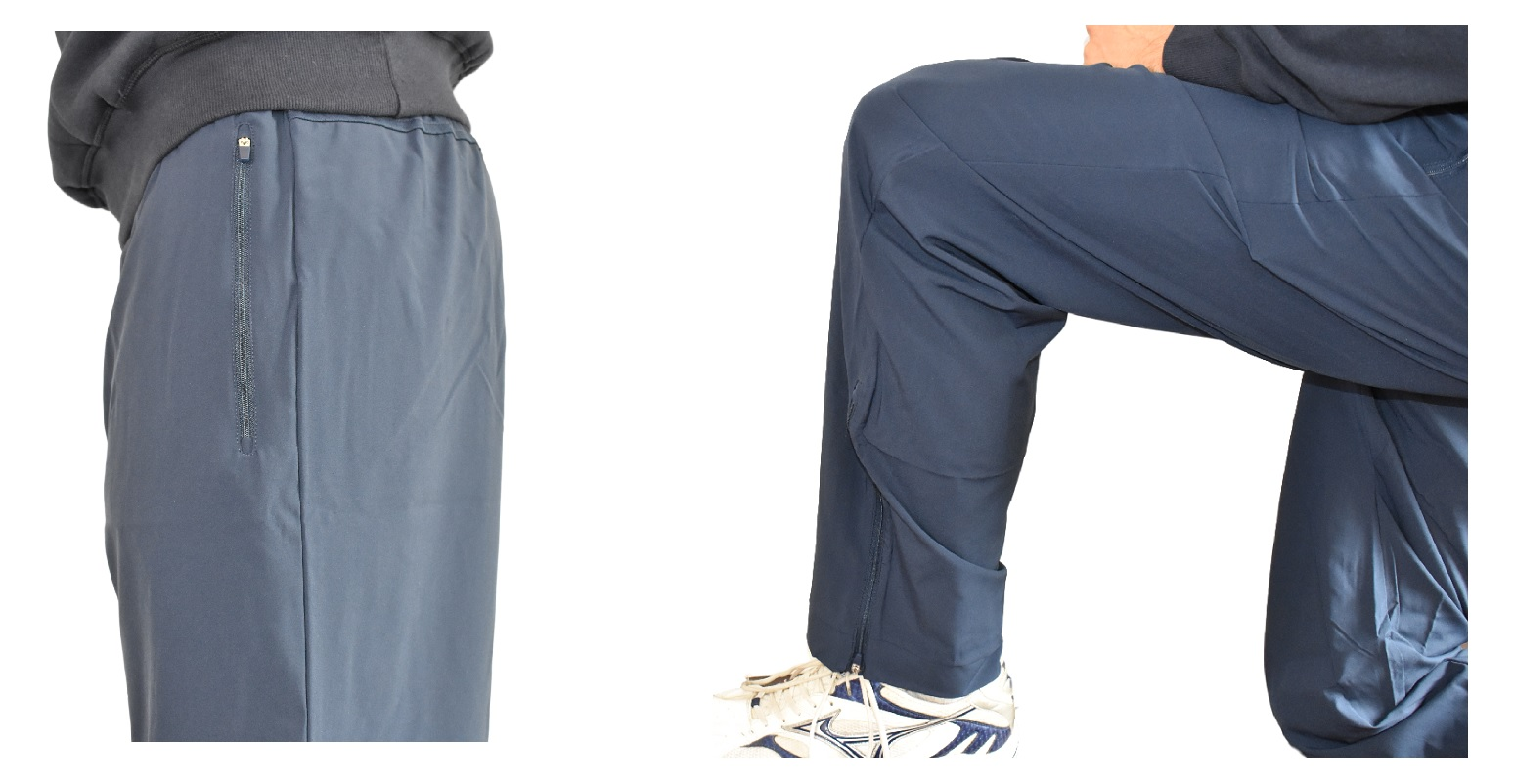 Athletic Training Pants for Tall Slim Men