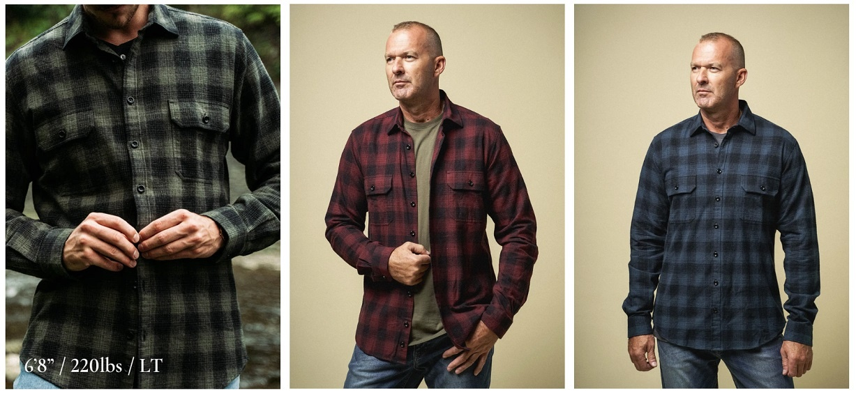 Best Flannel Shirts for Tall Men