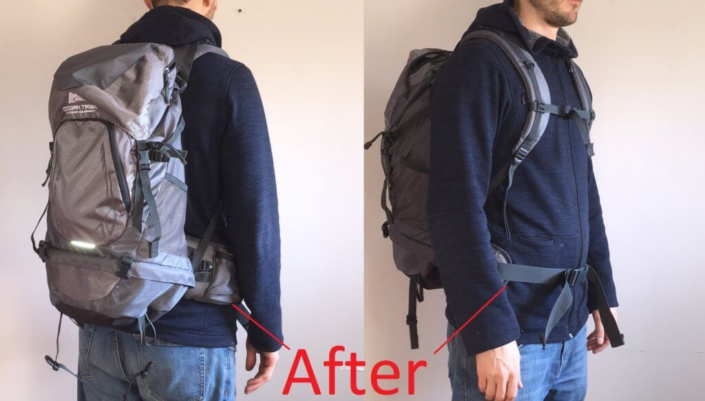 DIY Hiking Backpack for Tall People