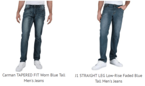 Jeans Fashion for Tall Skinny Guys