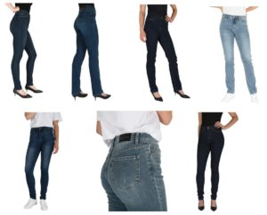 Jeans for Tall Women Tall Slim Ladies by American Tall
