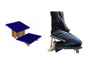 Low Profile Kneeling Chair for Tall People Featured