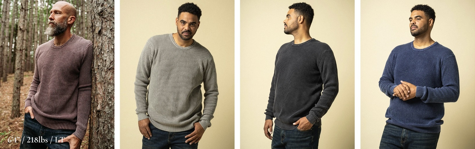 Rugged Sweaters for Tall Slim Men