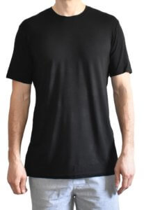 T-shirts for Tall Skinny Guys Black