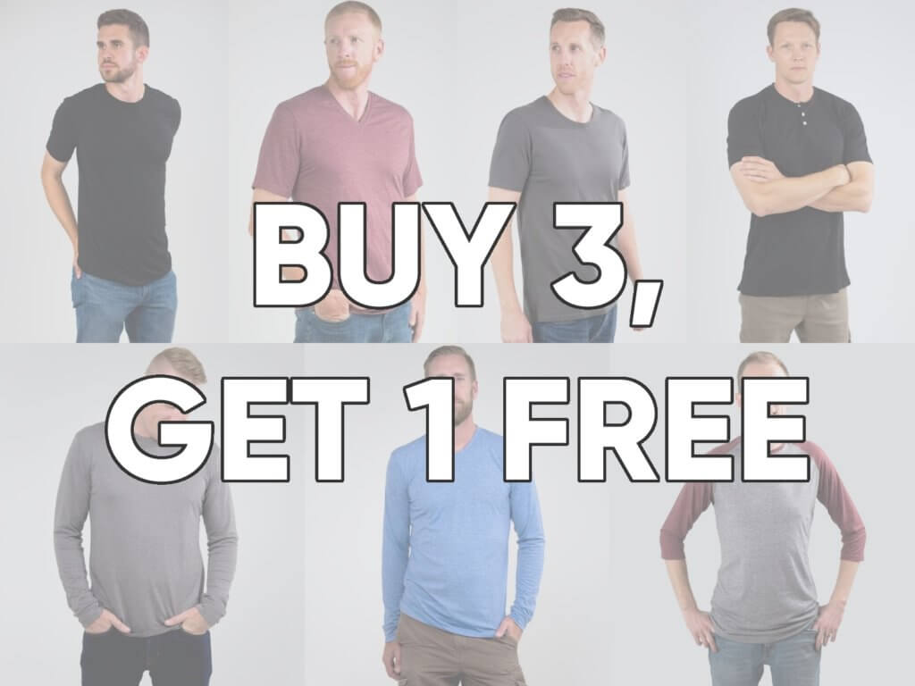 Tall Men Tall Slim Tees Black Friday Sale